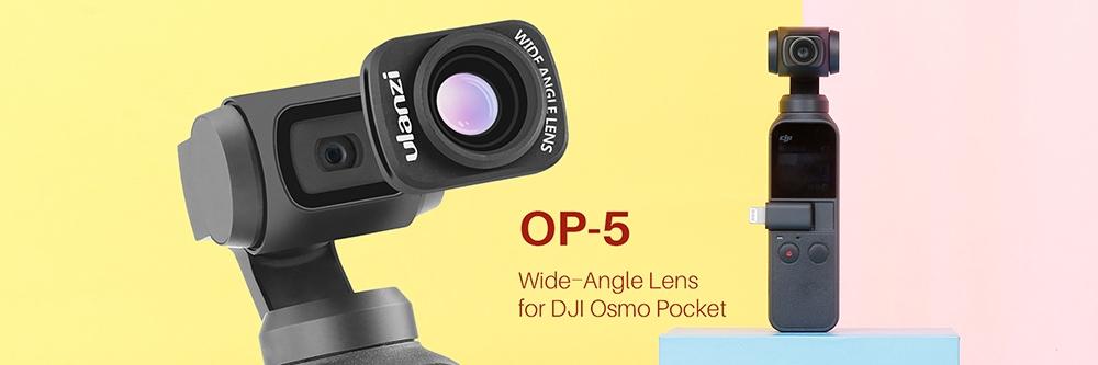 เลนส์มุมกว้าง DJI OSMO Pocket
