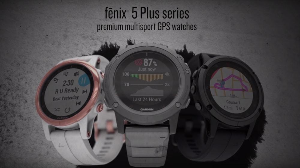Garmin Fenix 5 Plus Sapphire นาฬิกาอัจฉริยะ