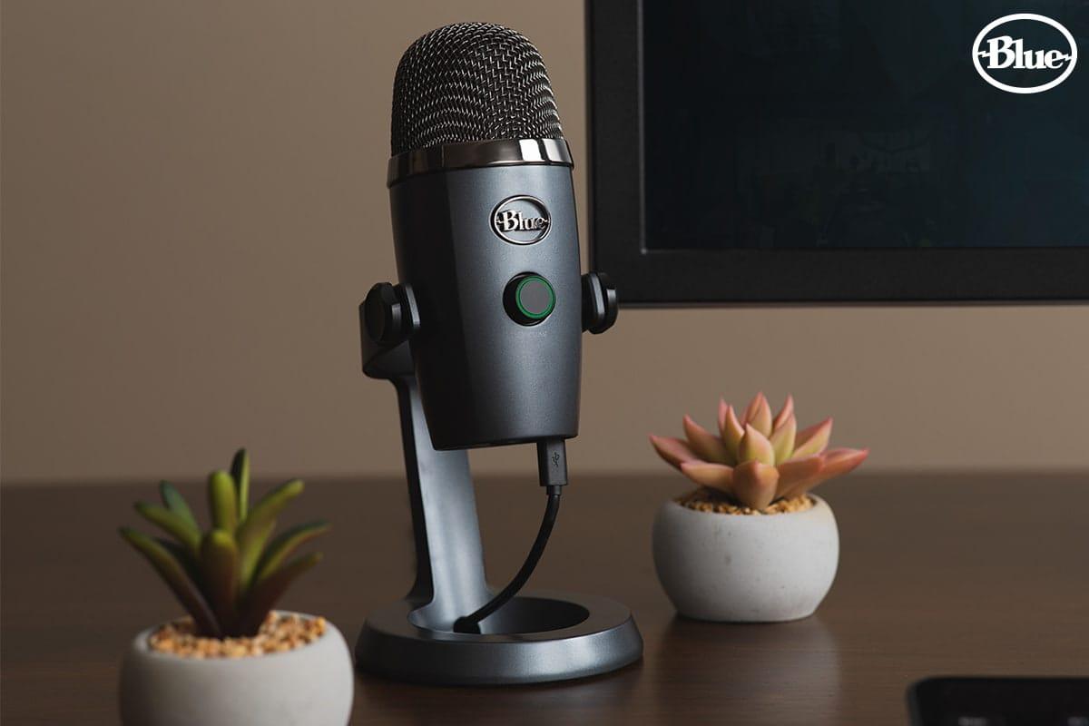 Blue Yeti Nano USB Microphone ราคา 5,790 บาท ประกันศูนย์