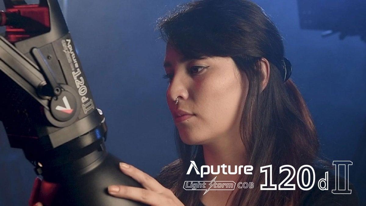 Aputure Light Storm LS120D II LED Light V-Mount ราคา 27,500 บาท ประกันศูนย์