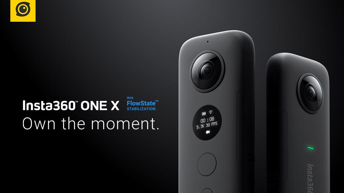 INSTA360 Action Camera ONE X ราคา 13,900 บาท ประกันศูนย์