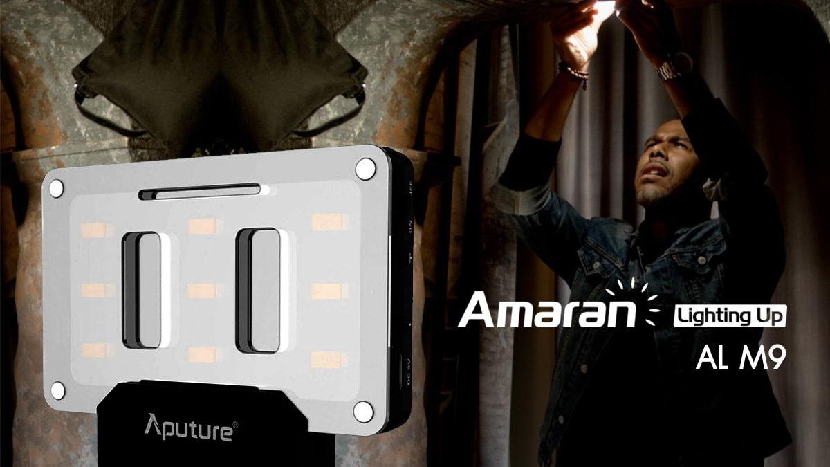 Aputure AL-M9 Amaran On Camera LED Light ราคา 1,750 บาท ประกันศูนย์