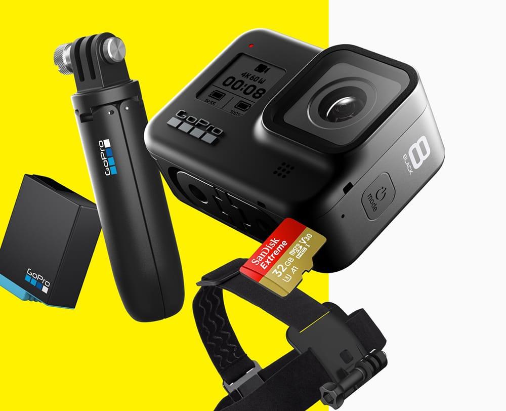 พรีวิว GoPro Hero 8 Travel Pack Set ชุดพิเศษที่ lnwgadget เท่านั้น ชุดเดียวจบ ไม่ต้องไปต่อที่ไหน