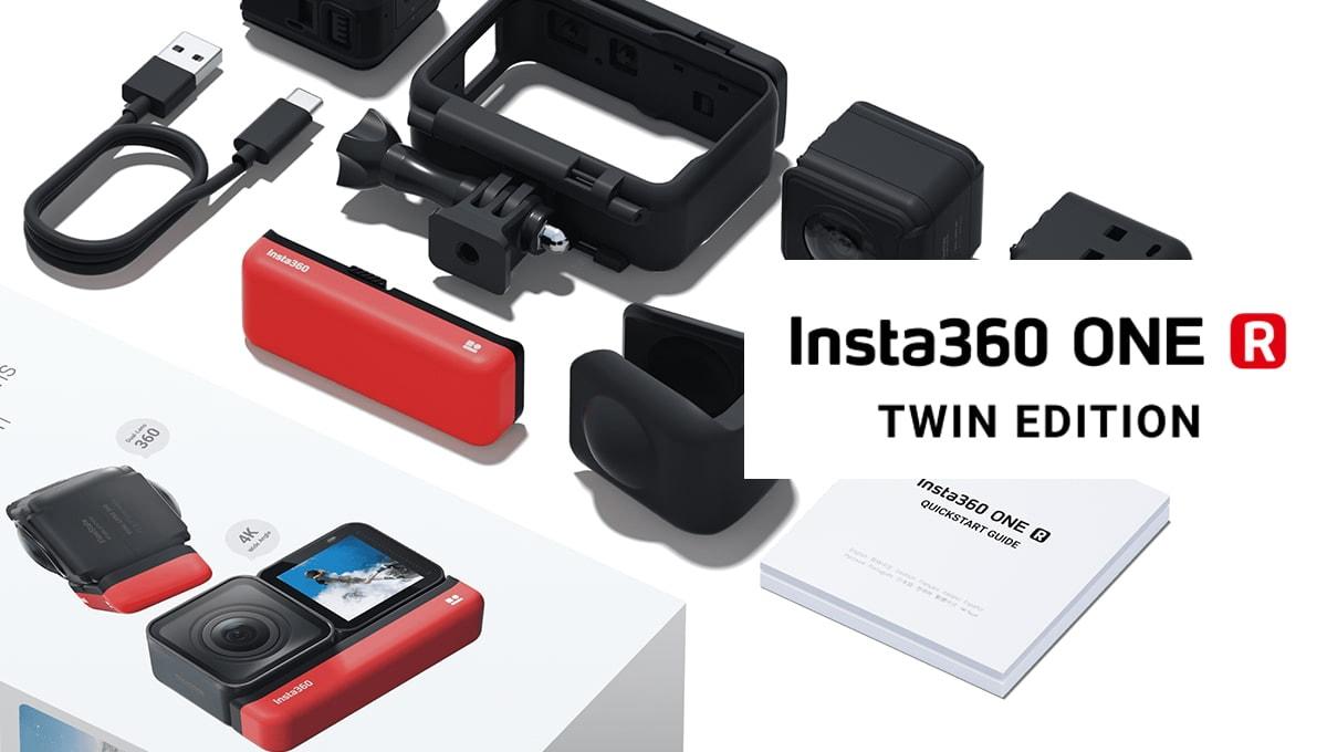 Insta360 One R Twin Edition ราคา 16,490 บาท ประกันศูนย์