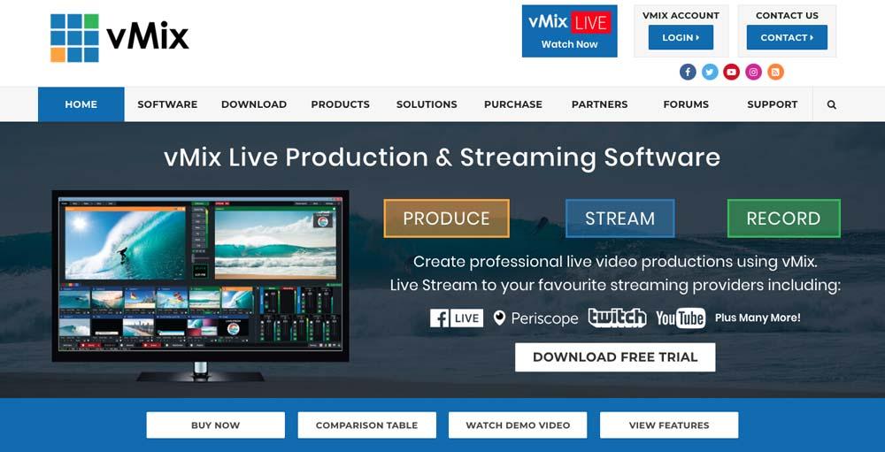 6 ซอฟต์เเวร์ live streaming เเนะนำ ใช้ง่าย ภาพสวย คุณภาพสูง ทั้งเเบบฟรีเเละเสียตังค์
