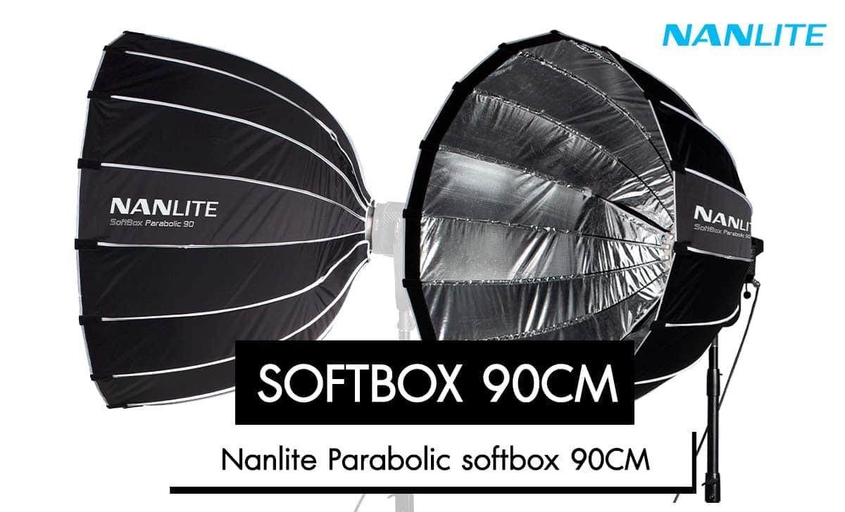 Nanlite Parabolic Softbox 90CM ราคา 3,950 บาท ประกันศูนย์ไทย